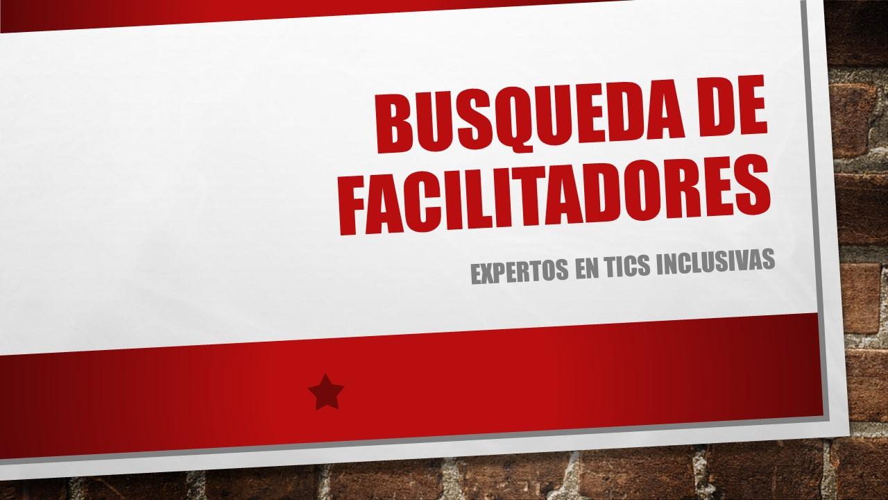 BUSQUEDA DE FACILITADORES